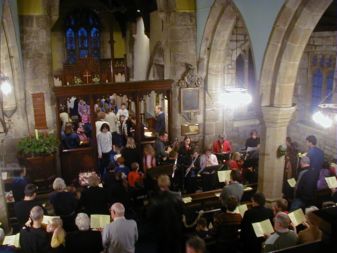 Inside St Helen\'s Church