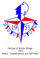 Trowell logo as the Festival of Britain Village
