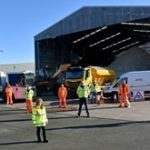 Winter gritting teams